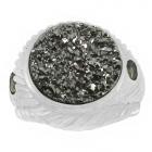 Druzy Stone Ring Nrb5899-DZ-R ~ FREE SHIPPING ~