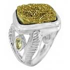 Druzy Stone Ring Nrb5901-DZ-R ~ FREE SHIPPING ~