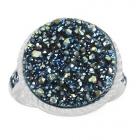 Druzy Stone Ring Nrb5915-DZ-R ~ FREE SHIPPING ~