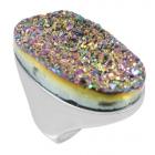 Druzy Stone Ring Nrb5973-DZ-R   ~ FREE SHIPPING ~