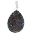 Druzy Stone Pendant Np9015-DZ-R ~ FREE SHIPPING ~