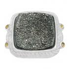 Druzy Stone Ring Nrb5896-DZ-R ~ FREE SHIPPING ~