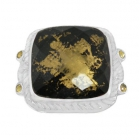 Gold Flake Ring Nrb5896-GL-R