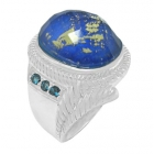 Gold Flake Ring Nrb5900-GL-R