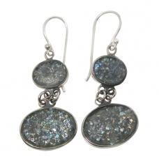 Roman Glass Earrings 1249 ~ FREE SHIPPING ~