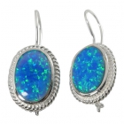 Opal Earrings 1282  ~ FREE SHIPPING ~