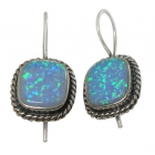 Opal Earrings 1283  ~ FREE SHIPPING ~
