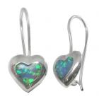 Opal Earrings 1285  ~ FREE SHIPPING ~