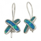 Opal Earrings 1286 ~ FREE SHIPPING ~