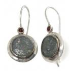 Roman Glass Earrings 1824 ~ FREE SHIPPING ~