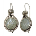 Roman Glass Earrings 1851 ~ FREE SHIPPING ~