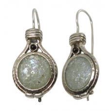 Roman Glass Earrings 1851 ~ FREE SHIPPING ~
