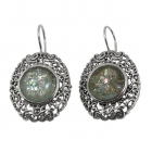 Roman Glass Earrings 2143 ~ FREE SHIPPING ~