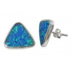 Opal Stud Earrings 1172 ~ FREE SHIPPING ~