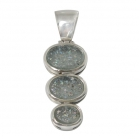 Roman Glass Pendant 1151 ~ FREE SHIPPING ~