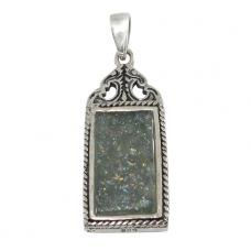 Roman Glass Pendant 2234 ~ FREE SHIPPING ~