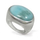 Larimar Ring 0756 ~ FREE SHIPPING ~
