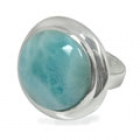 Larimar Ring 0760 ~ FREE SHIPPING ~