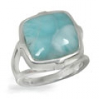 Larimar Ring 0763 ~ FREE SHIPPING ~