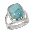 Larimar Ring 0766 ~ FREE SHIPPING ~