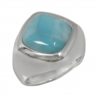 Larimar Ring 0768 ~ FREE SHIPPING ~