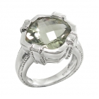 Green Amethyst Ring 4083/R ~ FREE SHIPPING ~