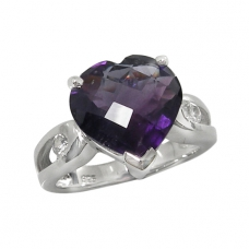 Amethyst Ring 4091/R ~ FREE SHIPPING ~