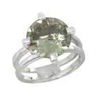 Green Amethyst Ring 4152/R ~ FREE SHIPPING ~