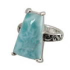 Larimar Ring 4282 ~ FREE SHIPPING ~