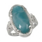 Larimar Ring 4522 ~ FREE SHIPPING ~
