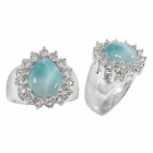 Larimar Ring 4982 ~ FREE SHIPPING ~