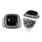 Black Onyx Ring 5090  ~FREE SHIPPING~ ~ FREE SHIPPING ~
