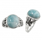 Larimar Ring 5096 ~ FREE SHIPPING ~