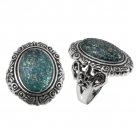 Roman Glass Ring  5148 ~ FREE SHIPPING ~