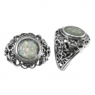 Roman Glass Ring  5197 ~ FREE SHIPPING ~