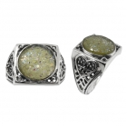 Roman Glass Ring 5198 ~ FREE SHIPPING ~