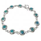 Opal Bracelet 0667 ~ FREE SHIPPING ~