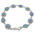 Opal Bracelet 0795 ~ FREE SHIPPING ~