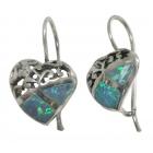 Opal Earrings 1288  ~ FREE SHIPPING ~