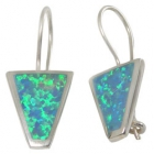 Opal Earrings 1289  ~ FREE SHIPPING ~