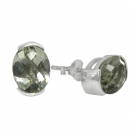 Green Amethyst Earrings 1455 ~ FREE SHIPPING ~