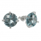 Earrings Blue Topaz 1467 ~ FREE SHIPPING ~