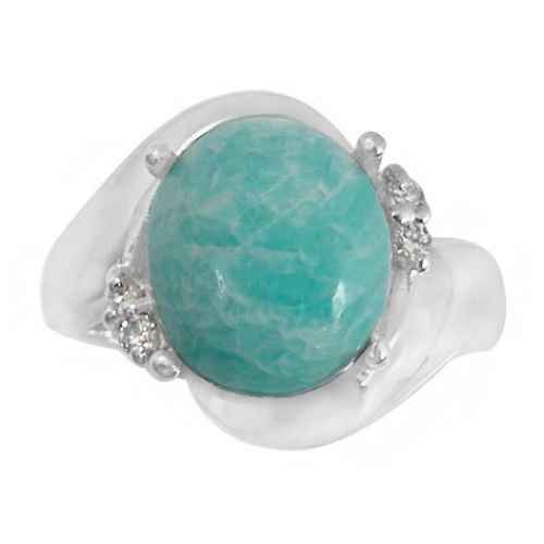 amazonite itm steel stainless bear zircon rings s ring lazuli loading image is lapis inlay