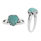 Amazonite Ring 3304 ~ FREE SHIPPING ~