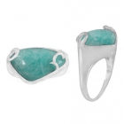 Amazonite Ring 3337 ~ FREE SHIPPING ~