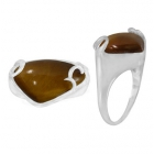Tigers Eye Ring 3337 ~ FREE SHIPPING ~