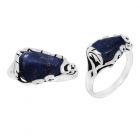 Lapis Lazuli Ring 3344/OXI ~ FREE SHIPPING ~