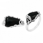 Black Onyx Ring 3344/ON ~ FREE SHIPPING ~