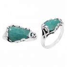 Amazonite Ring 3344/OXI ~ FREE SHIPPING ~