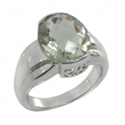 Green Amethyst Ring 4089//R ~ FREE SHIPPING ~